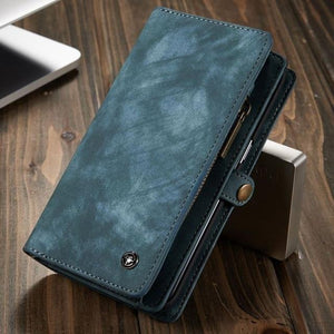 All in One Wallet Case for Samsung Galaxy S9 / S9 Plus / S8 / S8 Plus / Note 8 / S7 / S7 Edge - Perfenq
