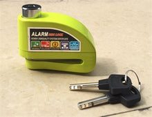 Load image into Gallery viewer, Anti Theft Disc Brake Motorbike Lock with Alarm - Perfenq