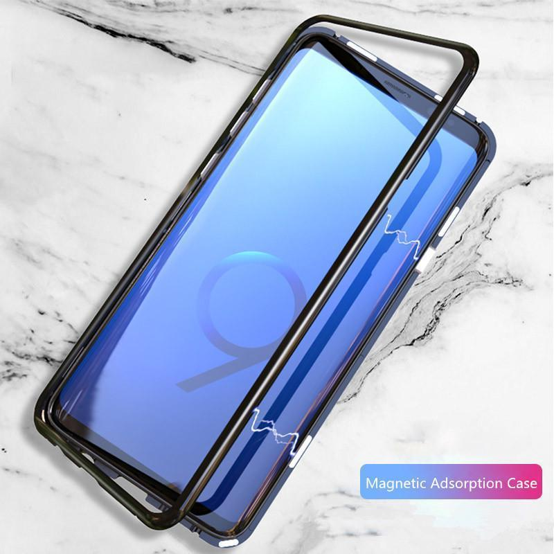 official photos 9be50 f5be6 Magnetic Adsorption Case For Samsung Galaxy S9 / S8 / S9 PLUS / S8 PLUS