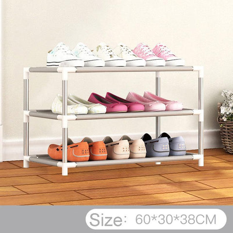 Small Closet DIY Shoe rack