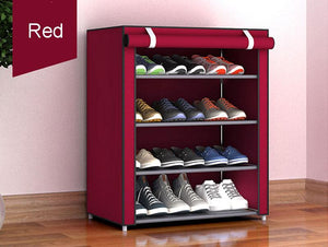 DIY Shoe Rack For Small Closet - Perfenq