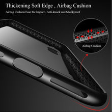 Load image into Gallery viewer, iPhone XS, XS Max, XR Tempered Glass Case with Soft Silicone Edge - Perfenq