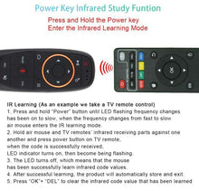 Load image into Gallery viewer, VONTAR G10 Voice Remote Control 2.4G Wireless Air Mouse Microphone Gyroscope IR Learning for Android tv box T9 H96 Max X96 mini - Perfenq