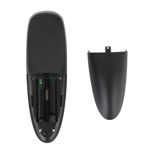 VONTAR G10 Voice Remote Control 2.4G Wireless Air Mouse Microphone Gyroscope IR Learning for Android tv box T9 H96 Max X96 mini - Perfenq