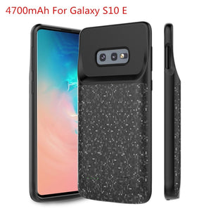 Samsung Galaxy S10 Plus /  S10 E / S10 Battery Charger Case Cover - Perfenq