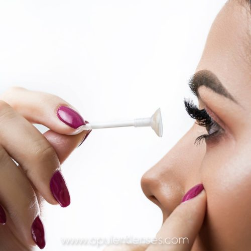 Lens applicator & Soft tweezers