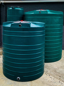 "2500L ""The Green"" Water Tank"