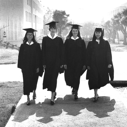 Celebrating 45 Years Since The First Four Undergrad Women Graduate From Caltech