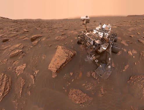 Happy Birthday, Curiosity!