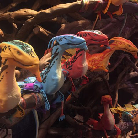 Disney's Fantastic Animatronics For 'The World of Avatar'