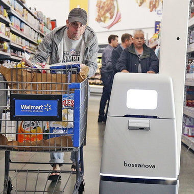 Walmart Launches Small Army Of Autonomous Scanning Robots