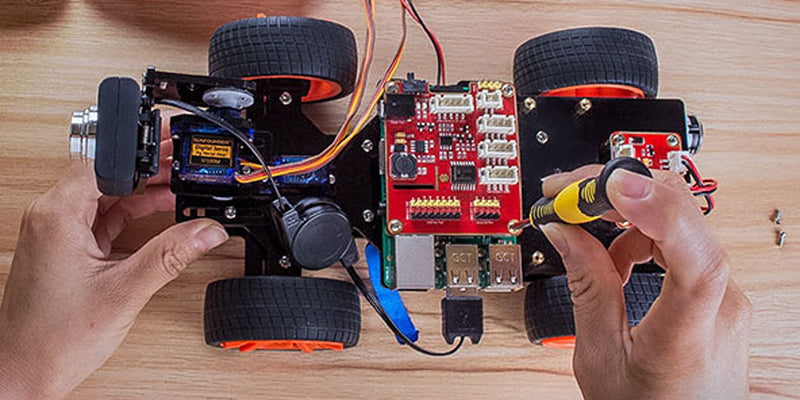 ACROBOTIC Robocar Is A Multi-Purpose Hardware Electronics Platform