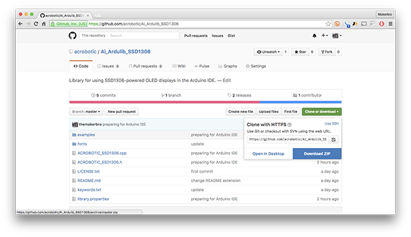 Download Zipped Repository From Github