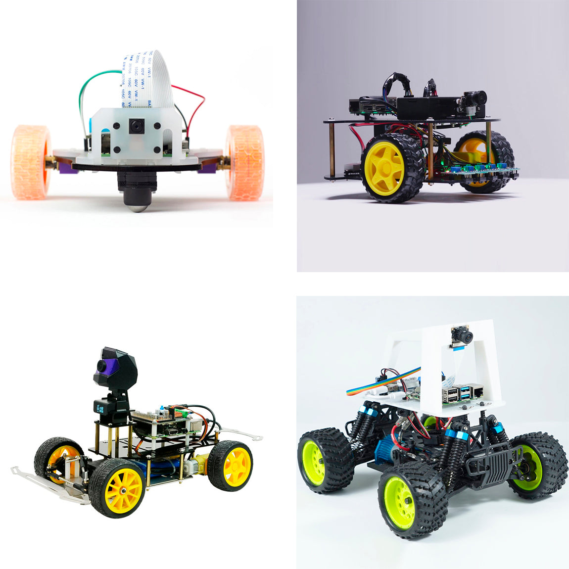 ACROBOTIC Robocar comes in 4 different models