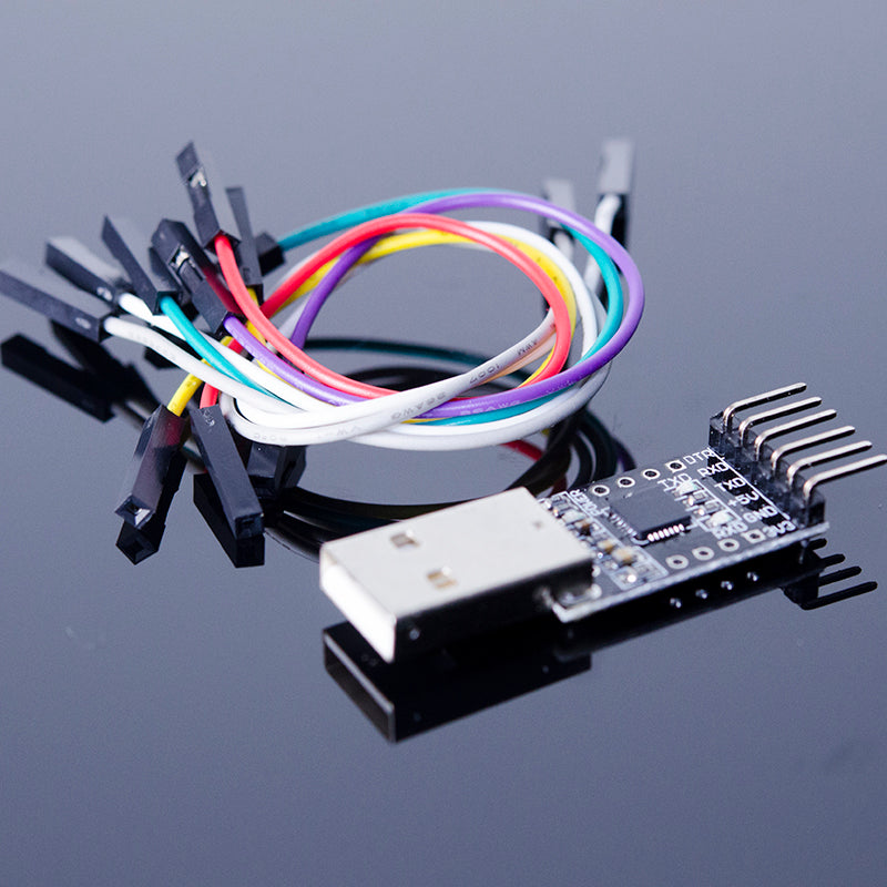 ACROBOTIC CP2102 USB to Serial UART Programmer