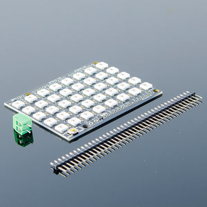 ACROBOTIC WS2812B 5×8 Matrix Shield (Arduino Uno) | NeoPixel-Compatible