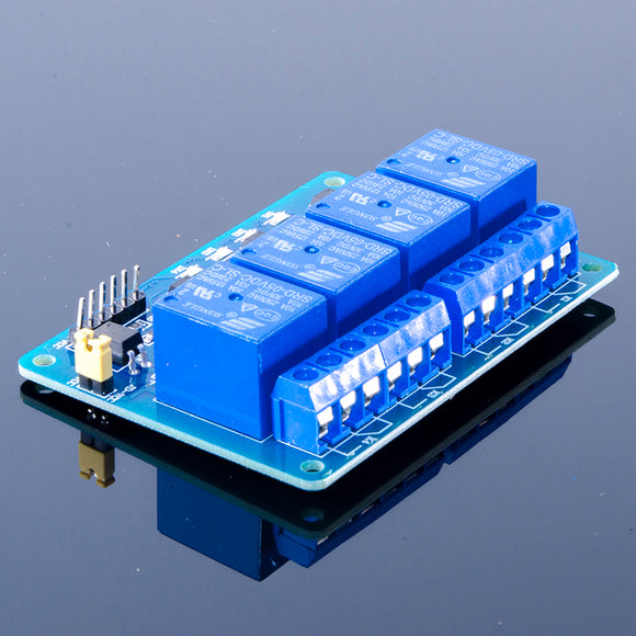 ACROBOTIC 4-Channel Relay Board (10A@250VAC, 10A@30VDC)