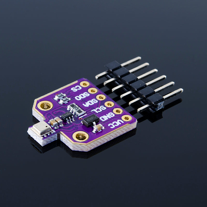 ACROBOTIC Temperature, Humidity, Pressure and Gas Sensor Breakout Board (BME680)