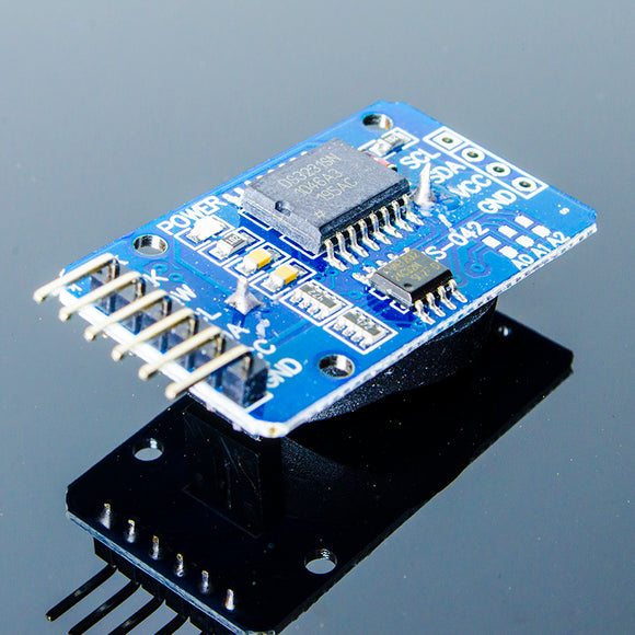 ACROBOTIC DS3231 RTC Real-Time Clock Breakout Board (AT24C32 I2C EEPROM)