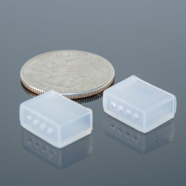 Silicone End Caps for LED Strips | NeoPixels, WS2812B, SK6812