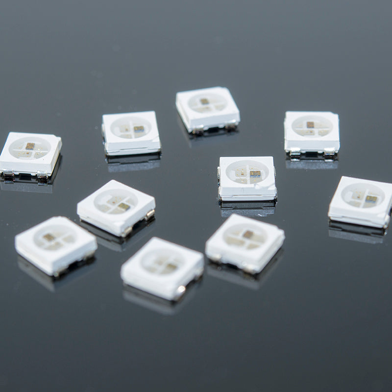 size 40 bfb83 b4a55 WS2812B RGB LED | 10-Pack | NeoPixel-Compatible