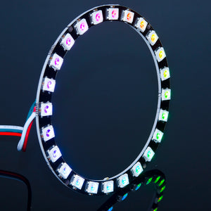 ACROBOTIC WS2812B RGB 24-LED Ring | Orb-24 | NeoPixel-Compatible