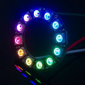 ACROBOTIC WS2812B/NeoPixels RGB 12-LED Ring | Orb-12