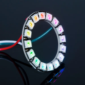 ACROBOTIC WS2812B RGB 16-LED Ring | Orb-16 | NeoPixel-Compatible