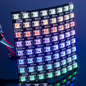 ACROBOTIC WS2812B 8×8 Panel (Flexible PCB) | NeoPixel-Compatible