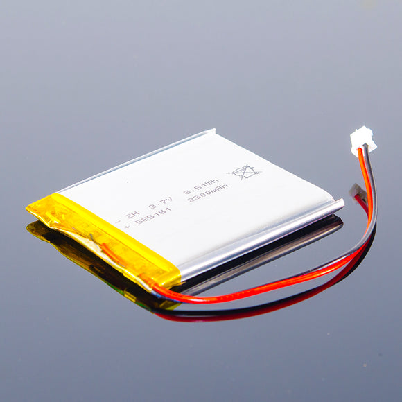 3.7V Polymer Lithium-Ion Battery (2300mAh)