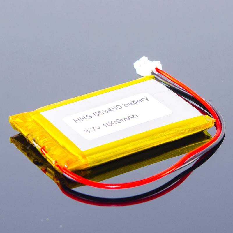 3.7V Polymer Lithium-Ion Battery (1000mAh)