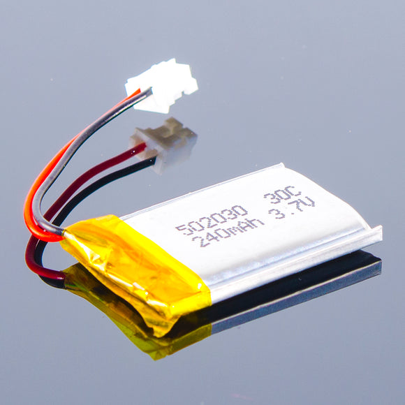 3.7V Polymer Lithium-Ion Battery (240mAh)
