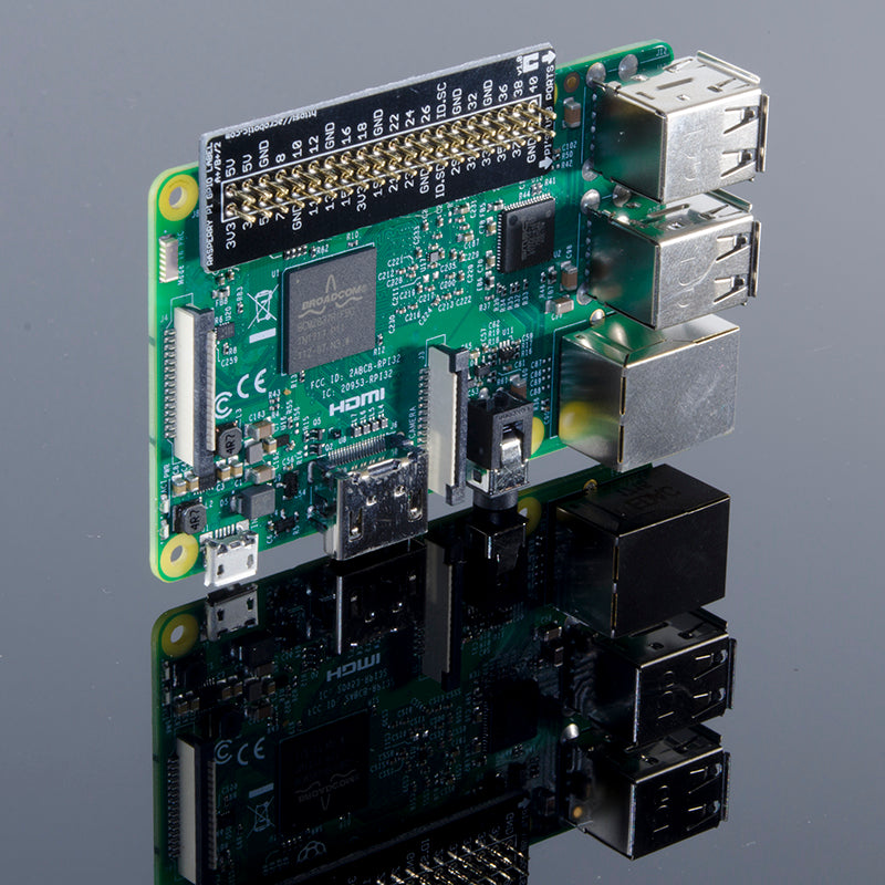 ACROBOTIC GPIO Reference Label for Raspberry Pi Zero, A+, B+, 2, and 3