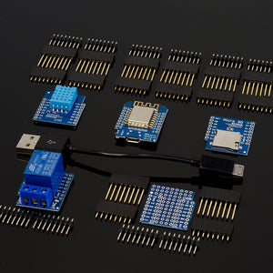 ACROBOTIC ESP8266 WeMos D1 Mini V2 Internet Of Things Kit | 5-Piece