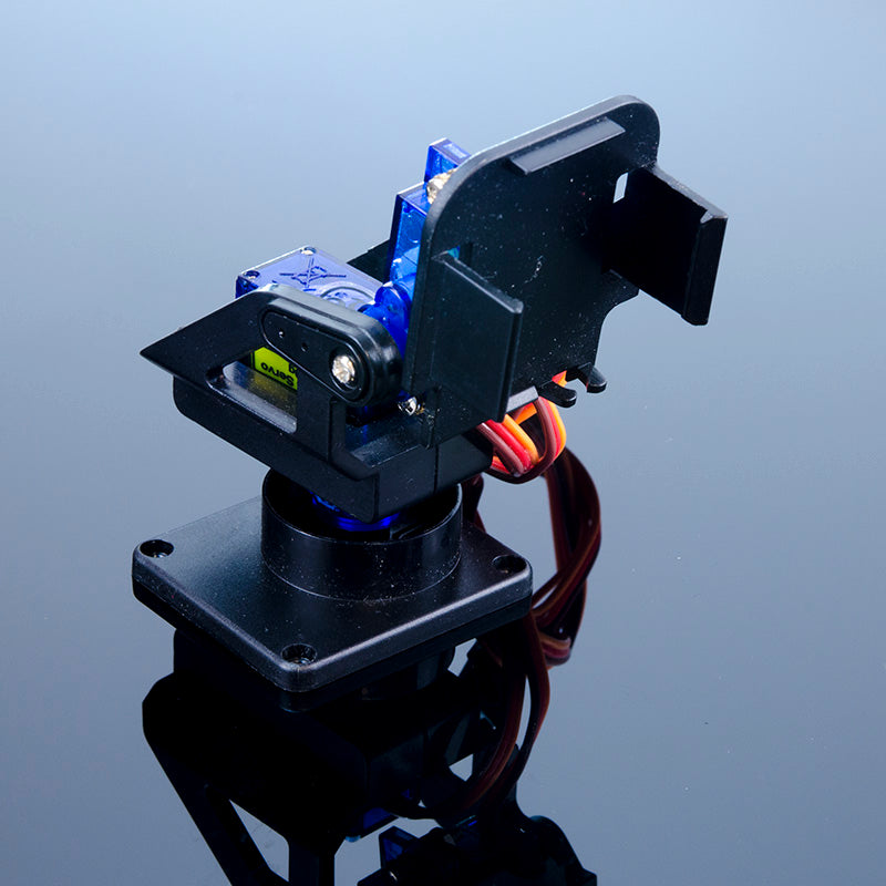 Pan and Tilt Camera Mount with Micro Servos