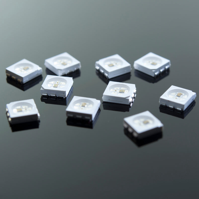 WS2812 RGB LED | 10-Pack | NeoPixel-Compatible