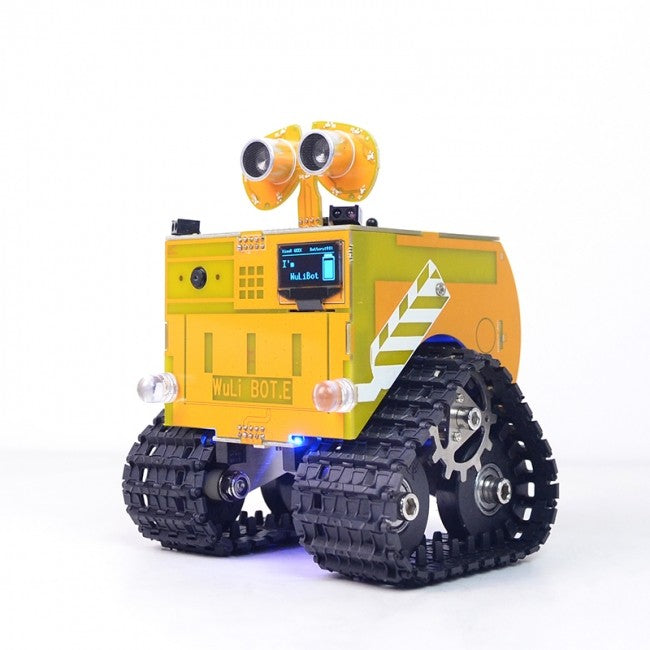 [PRE-ORDER] WHEEL-E | Programmable Robot System (powered by Arduino and ESP8266)