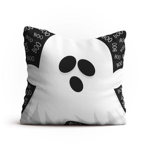 Ghost Halloween Throw Pillow - Halloween Decor by CozyHome Essentials™