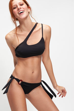 Maya Total Black Bikini swimsuit by vingeproject