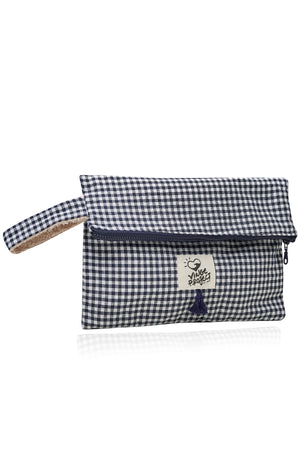 Cycladic in Blue 𝐁𝐢𝐠 Waterproof Clutch Bag ( 3 𝗟𝗔𝗦𝗧 𝗜𝗧𝗘𝗠𝗦 )