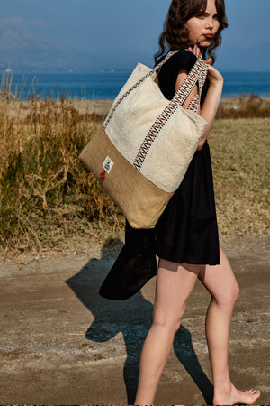 Crema - Oversized Beach Bag