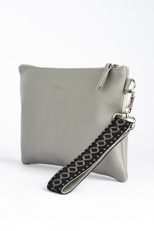 """Tiffany"" Clutch Bag in French Grey"