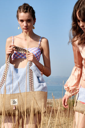 Lagoon - Oversized Beach Bag ( 1 LAST ITEM )