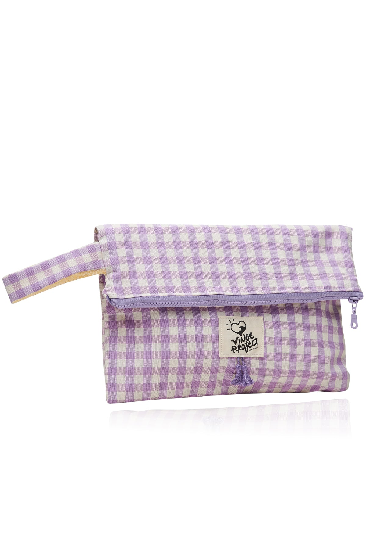 Cycladic in Lilac 𝐁𝐢𝐠 Waterproof Clutch Bag
