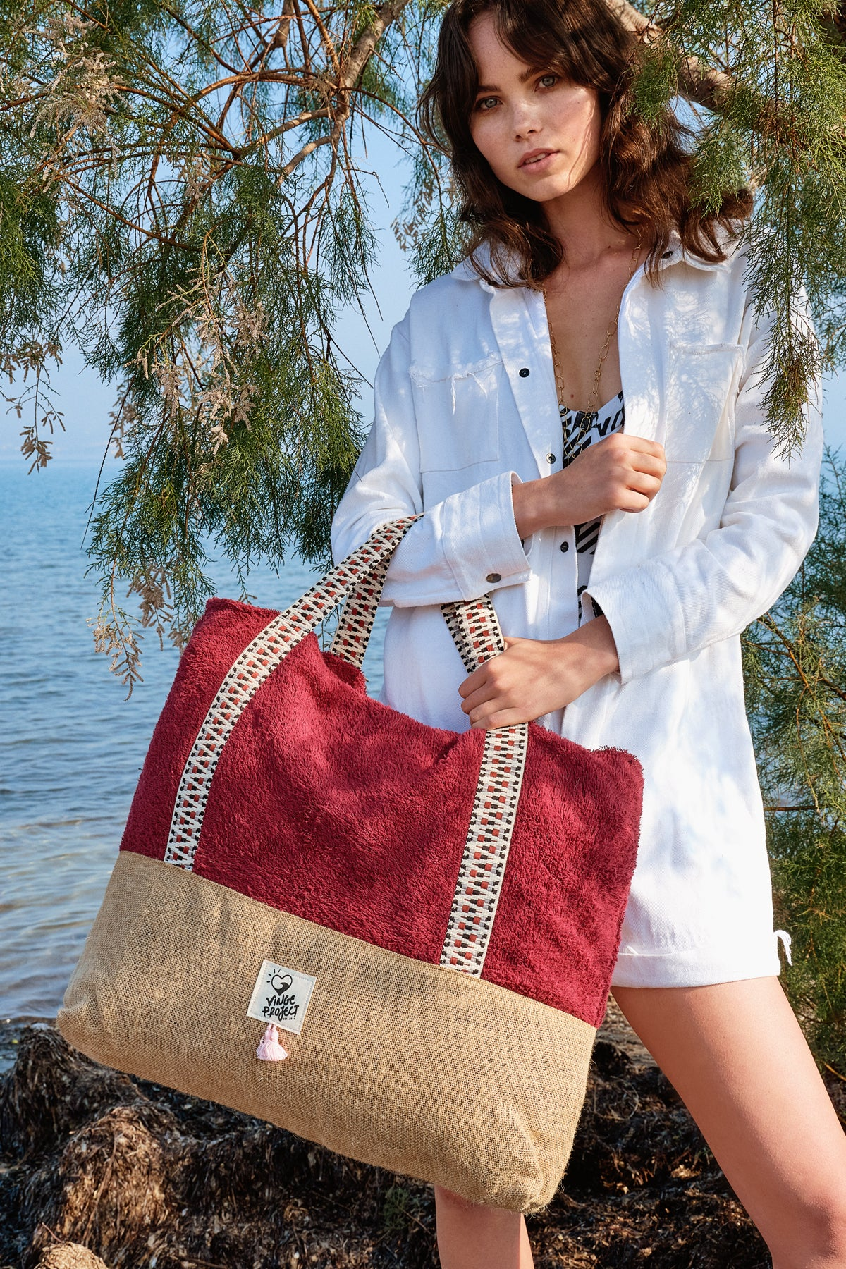 Ruby - Oversized Beach Bag