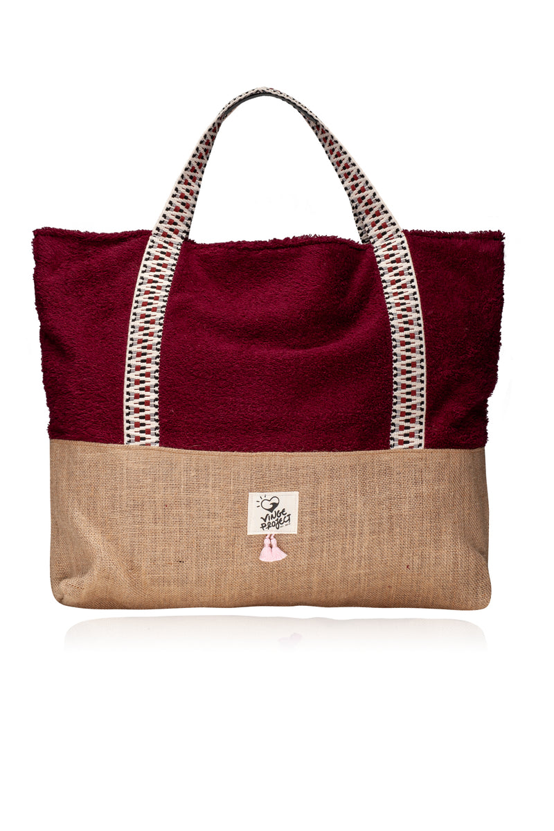 ruby oversized beach bag vingeproject