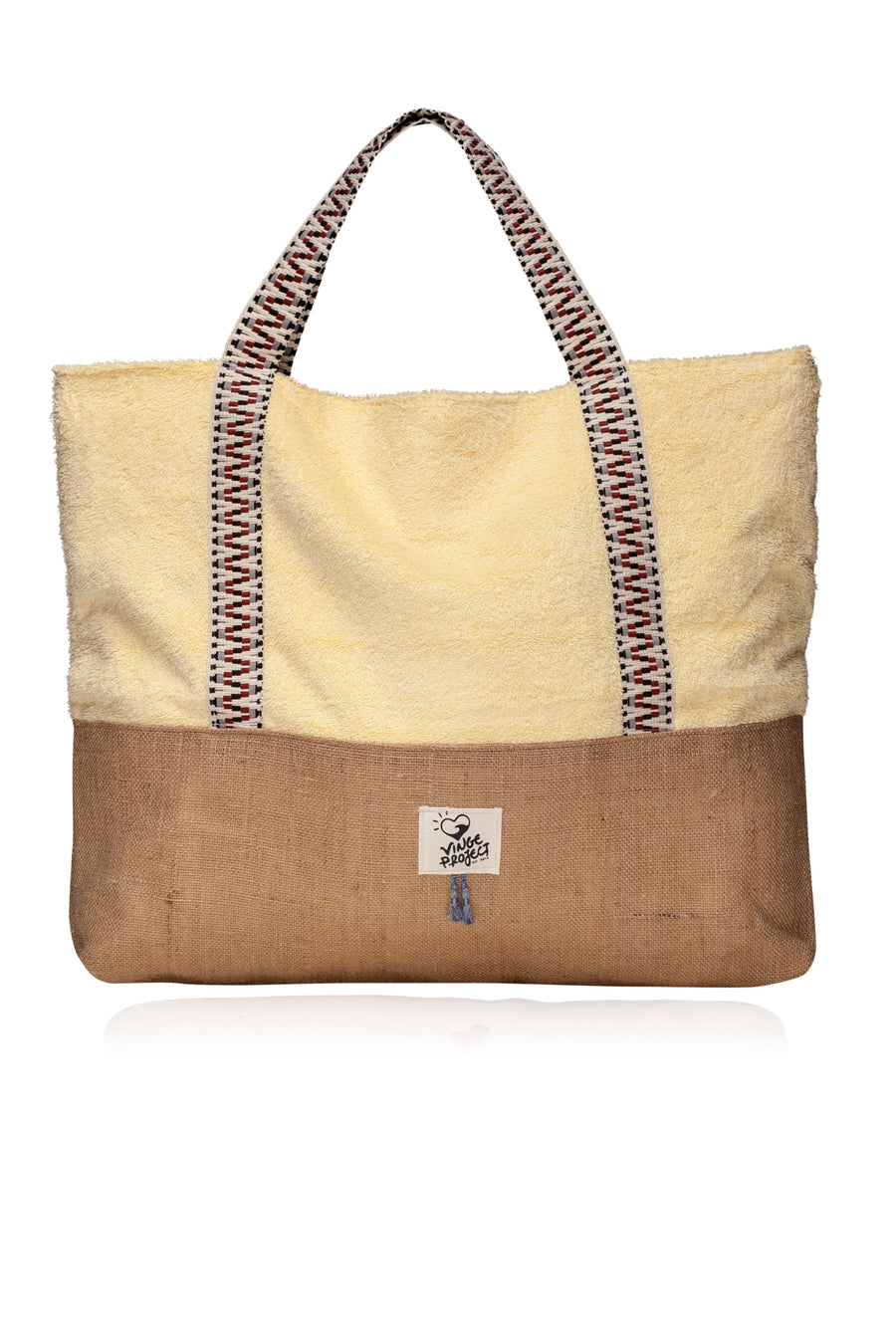 banana split oversized beach bag vingeproject