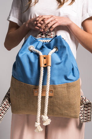 cycladic_blue_hermosa_canvas_backpack_vingeproject