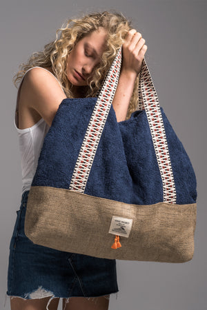sailor oversized beach bag vingeproject