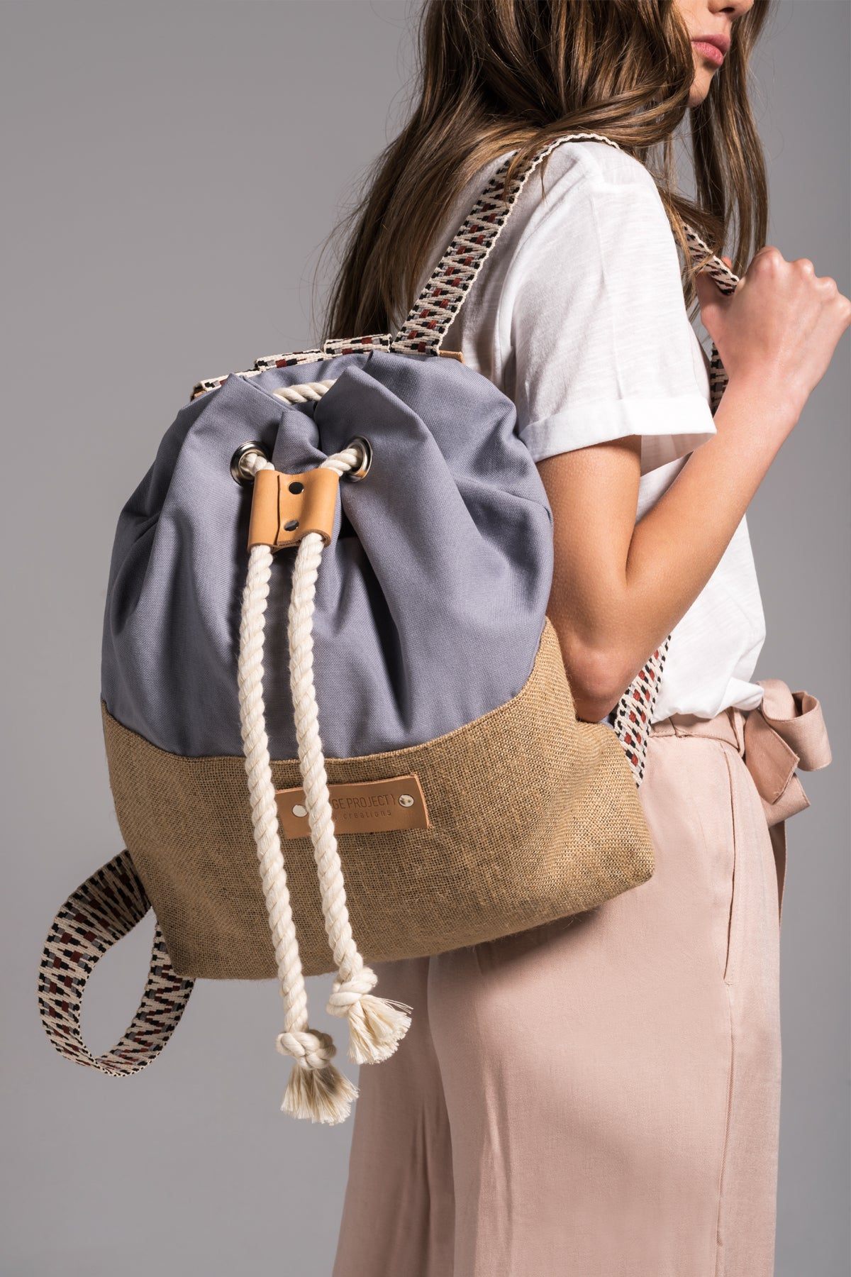 Lilac Hermosa Canvas backpack vingeproject